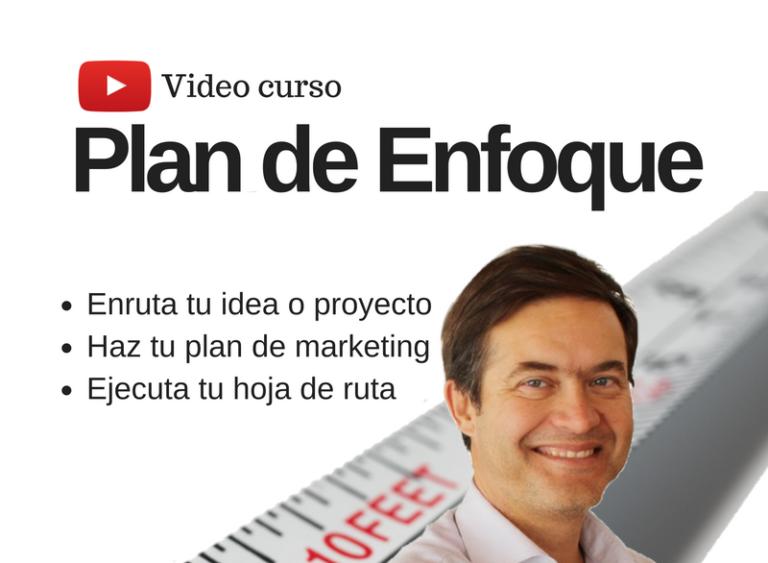 VideoCurso para aprender a enfocar tu proyecto