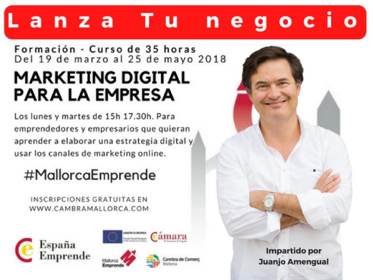 Formación en marketing digital para la empresa