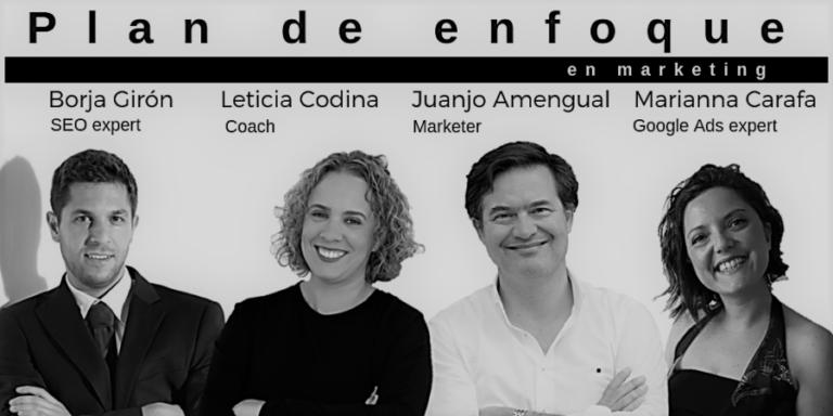 Curso de marketing » Plan de enfoque» en Mallorca