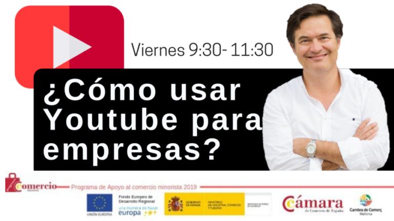 Curso de Youtube para empresas