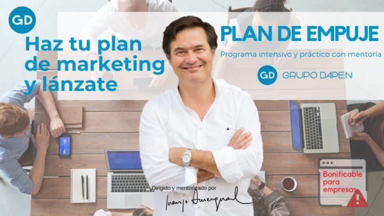 Lanza tu plan de marketing con mentoría y vende en el mundo digital