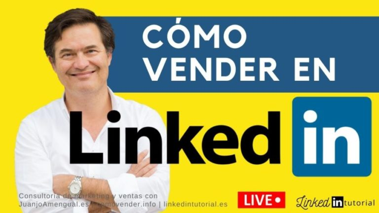 Webinar en directo sobre cómo vender en Linkedin